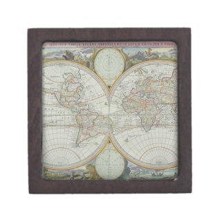 Map of the World 21 Gift Box