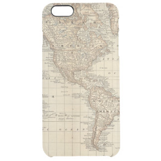 Map of the World 2 2 Clear iPhone 6 Plus Case