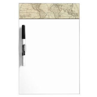 Map of the World 2 2 Dry Erase Board