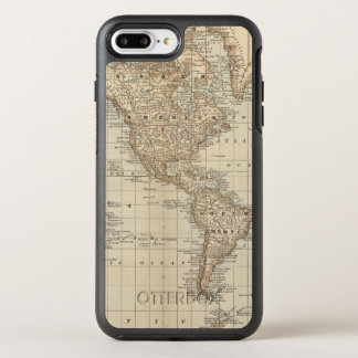 Map of the World 2 2 OtterBox Symmetry iPhone 8 Plus/7 Plus Case