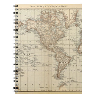Map of the World 2 Notebook