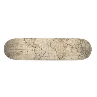 Map of the World 2 Skateboard Deck
