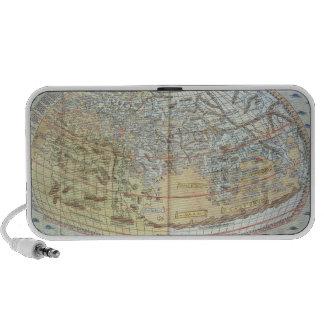 Map of the world 2 portable speaker