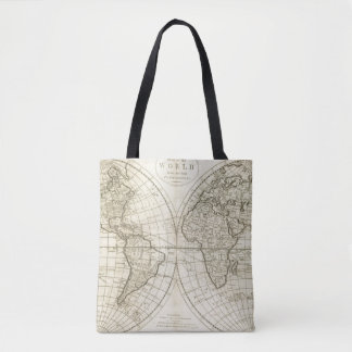 Map of the World 2 Tote Bag
