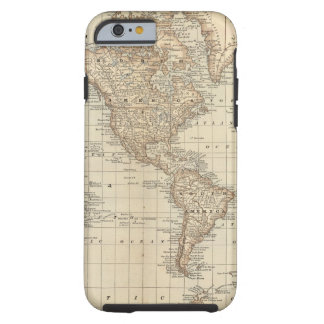Map of the World 2 Tough iPhone 6 Case