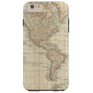 Map of the World 2 Tough iPhone 6 Plus Case
