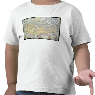 Map of the world 2 tees