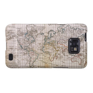 Map of the World 3 Samsung Galaxy S2 Cases