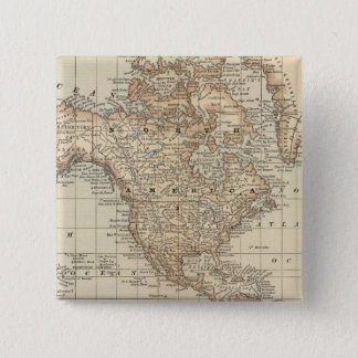 Map of the World 3 Pinback Button