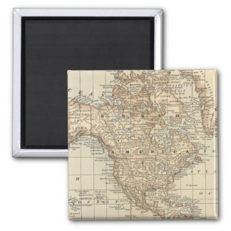 Map of the World 3 Refrigerator Magnets