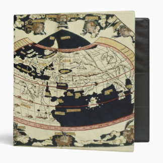 Map of the world 3 ring binder