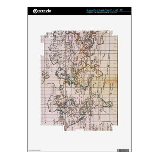 Map of the World 3 Skins For iPad 3