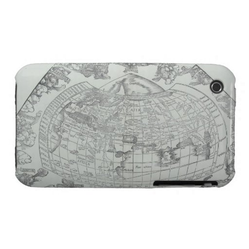 Map of the World 4 iPhone 3 Case