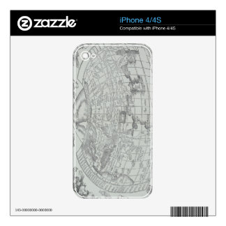 Map of the World 4 iPhone 4 Skins