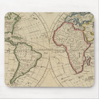 Map of the World 4 Mouse Pads