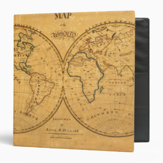 Map of the World 5 Binders