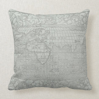 Map of the World 5 Throw Pillow