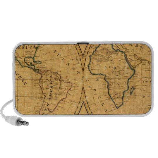 Map of the World 5 Portable Speaker