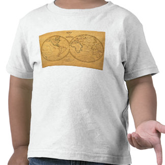 Map of the World 5 Tee Shirt