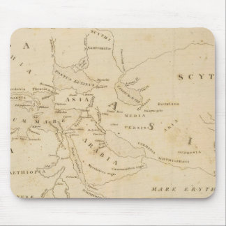 Map of the World According to Strabo Mouse Pad