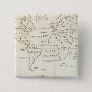 Map of the World Button