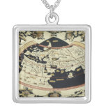 Map of the world custom necklace