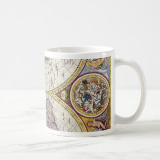 Map of the world from 1626 coffee mug