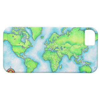 Map of the World iPhone SE/5/5s Case