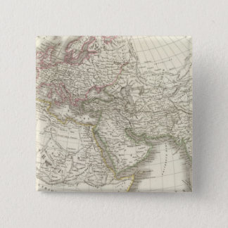 Map of the World known to the ancients Pinback Button