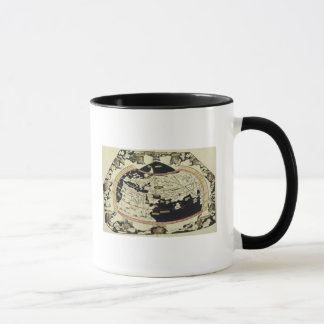Map of the world mug