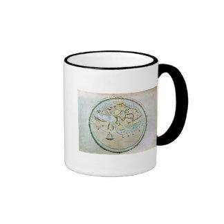 Map of the world ringer coffee mug