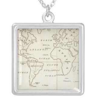 Map of the World Necklaces