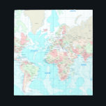 "Map of the world notepad<br><div class=""desc"">Map of the world</div>"