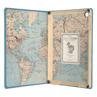 Map of the world on Mercator's projection iPad Air Cases