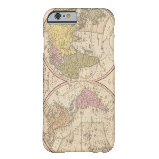 Map Of The World on the Globular Projection 2 Barely There iPhone 6 Case