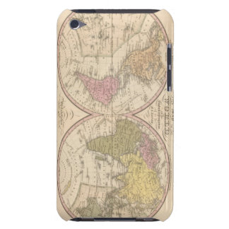 Map Of The World on the Globular Projection 2 iPod Touch Case-Mate Case