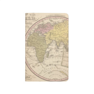 Map Of The World on the Globular Projection 2 Journal