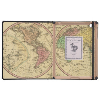 Map Of The World on the Globular Projection Cover For iPad