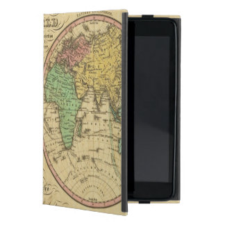 Map Of The World on the Globular Projection Cases For iPad Mini