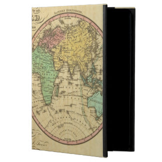 Map Of The World on the Globular Projection iPad Air Covers