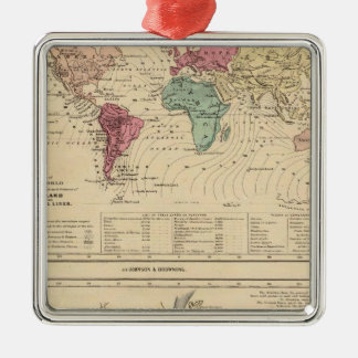 Map of The World Ornaments