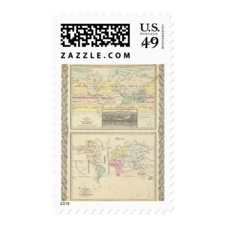 Map of The World Stamp