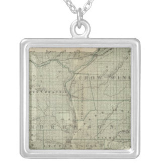 Map of Todd, Morrison, Minnesota Personalized Necklace