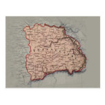 Map of Transylavania Postcard