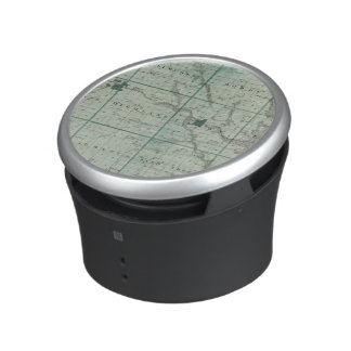 Map of Union County, State of Iowa Bluetooth Speaker