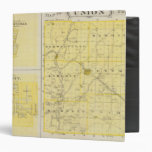 Map of Union County with Brownsville, Liberty 3 Ring Binders