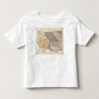 Map of US Drainage Areas Toddler T-shirt