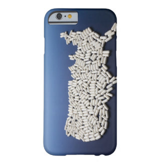Map of USA made of white pills Barely There iPhone 6 Case