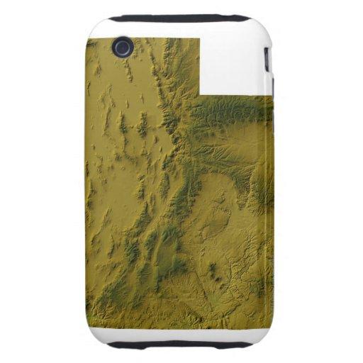 Map of Utah iPhone 3 Tough Cover