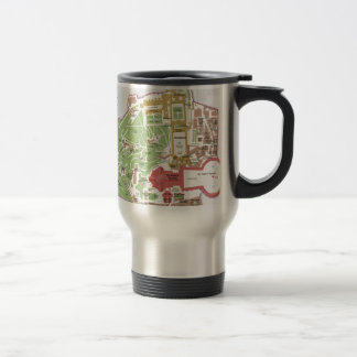 Map of Vatican City Travel Mug